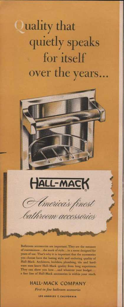 Hallmack Bathroom Accessorie (1951)