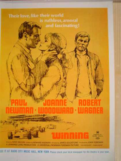Movie Winning Paul Newman Joanne Woodward Wagner (1969)