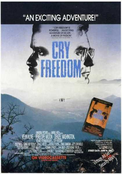Cry Freedom Movie Promo Video (1988)