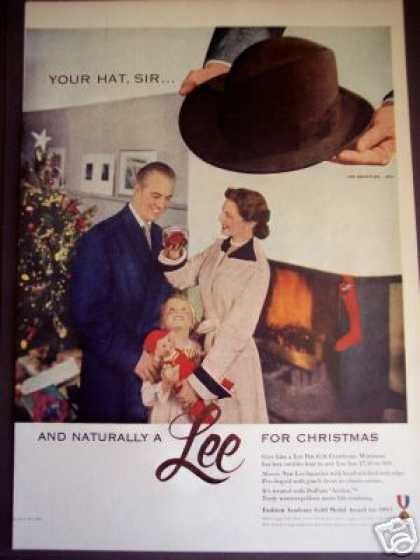 Lee Hats Mens Fashion Photo (1951)