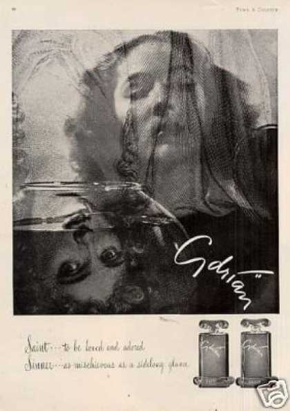 Adrian Saint &amp; Sinner Perfume (1946)