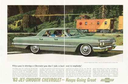 Chevy Impala Sport Sedan Train (1963)