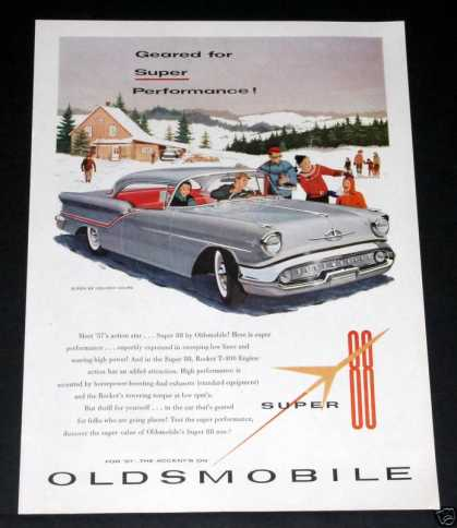 57 Oldsmobile Super 88, Now (1956)