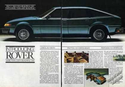 Rover 3500 Photo Large British Car (1980)