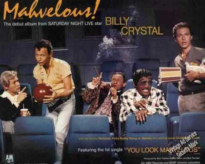 "Billy Crystal Photos ""Mahvelous!"" Debut Album (1985)"