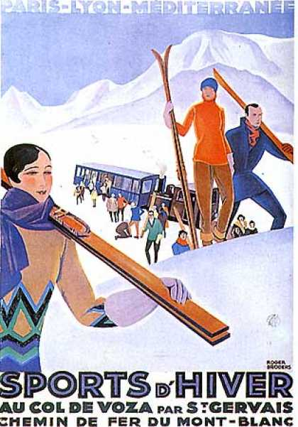 Sports d'Hiver by Roger Broders (1930)