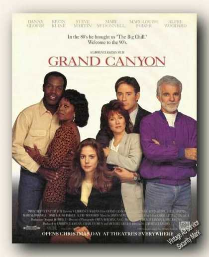 Danny Glover Kevin Kline Grand Canyon Movie (1991)