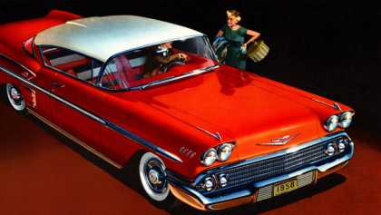 Chevrolet Bel Air Impala Sport Coupe (1958)