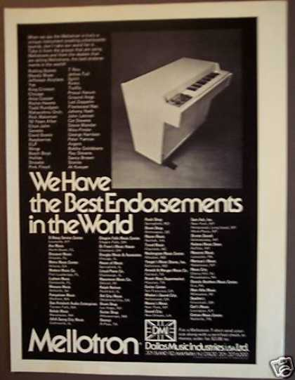 Mellotron Keyboard Synthesizer (1974)