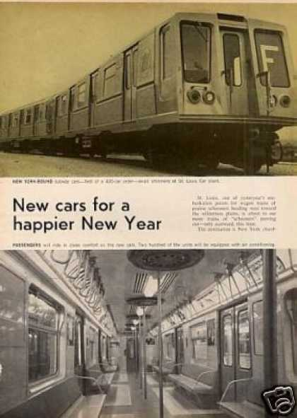 """New Cars for a Happier New Year"" Article/ny City (1968)"