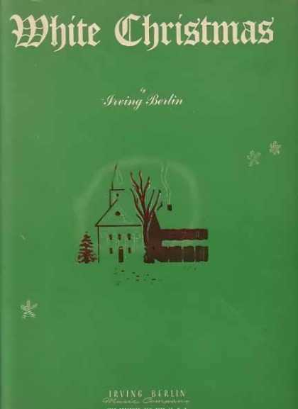 White Christmas Sheet Music by Irving Berlin (1942)