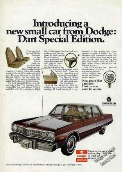 Dodge Dart Special Edition Introductory (1974)
