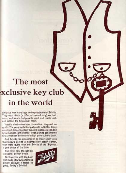 """The most exclusive key club in the world"" (1963)"