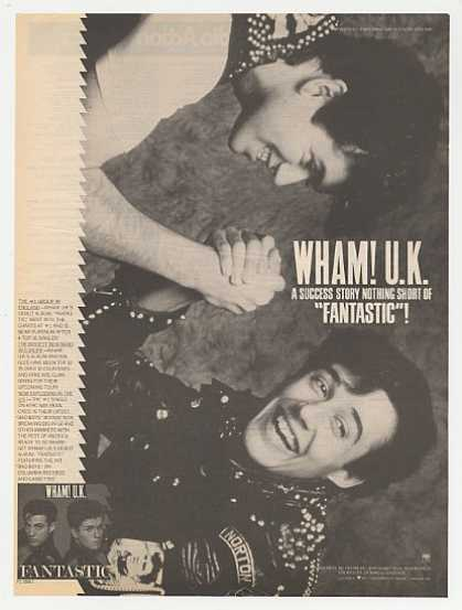 Wham! UK Fantastic Album Photo Promo (1983)