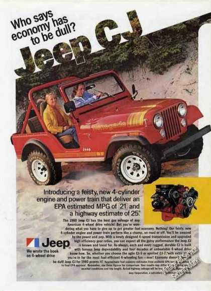Jeep Cj In Sand Dunes Collectible (1980)