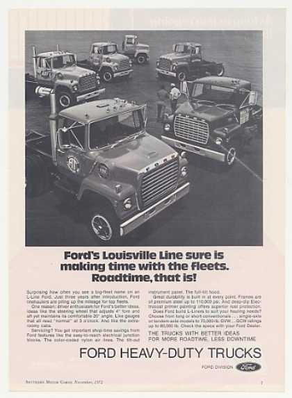 Ford Louisville Line L-Line Heavy Duty Trucks (1972)