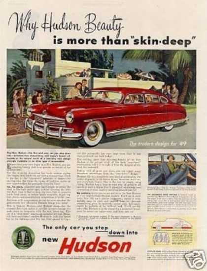 "Hudson Car Ad ""Why Hudson Beauty... (1949)"