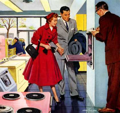How an industry's imagination captured the hearts of women Jones & Laughlin Steel, Arthur Saron Sarnoff (1956)