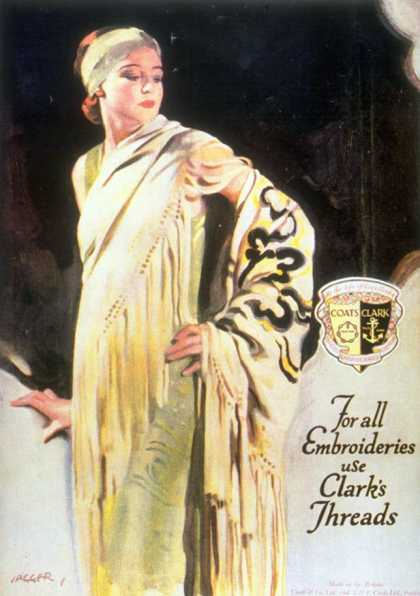 Clark's Threads, Women's Coats, UK (1920)