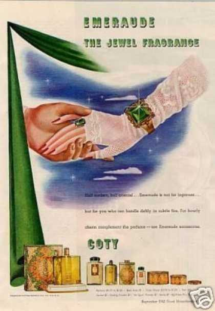 Coty Emeraude Perfume (1942)