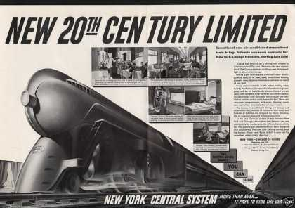 New York Central System Railroad System (1938)