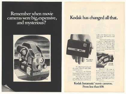&#8217;68 Kodak Instamatic Movie Camera Charles Addams art (1968)