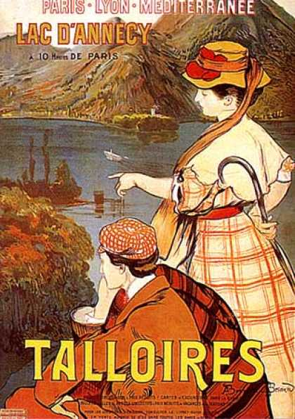 Talloires by Besnard (1900)