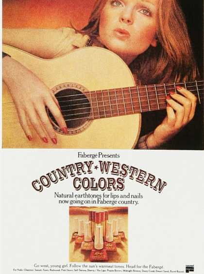 Faberge Country-Western Colors