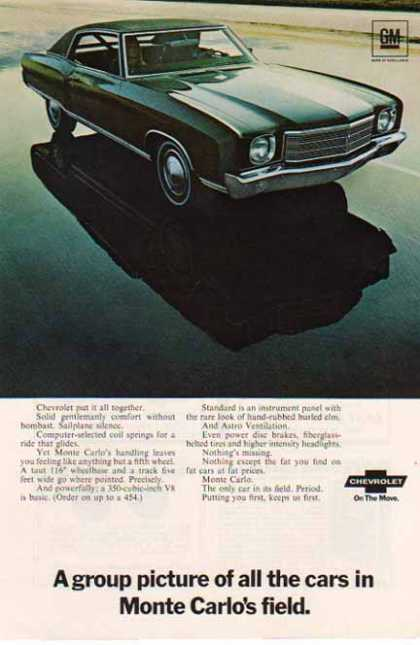 Chevrolet Monte Carlo Car – Sold (1969)