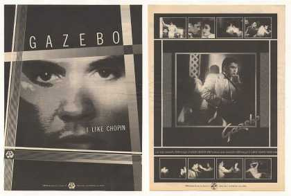 Gazebo I Like Chopin Baby Records 2-Page (1983)