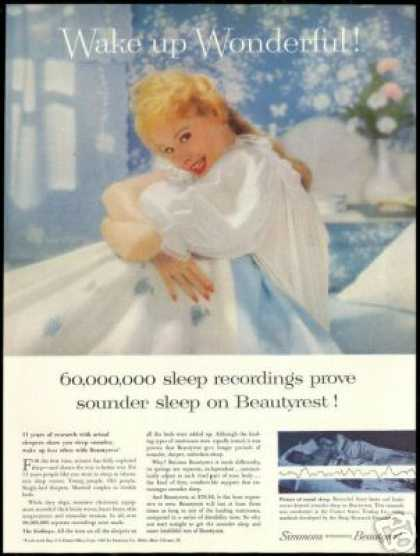Pretty Woman Simmons Beauty Mattress (1957)