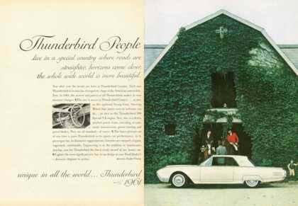 Ford Thunderbird Horse Barn (1961)