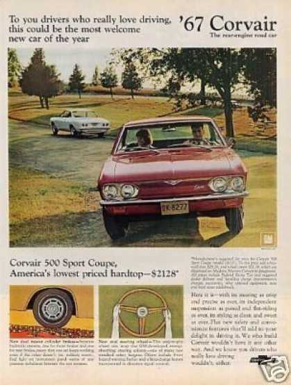 Chevrolet Corvair 500 Sport Coupe (1967)