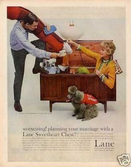 Lane Sweetheart Chest (1959)