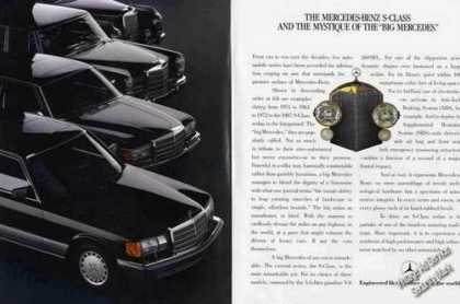 "The Mercedes-benz S-class ""Big Mercedes"" (1987)"