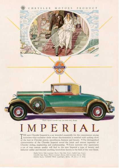 Imperial chrysler, USA (1929)