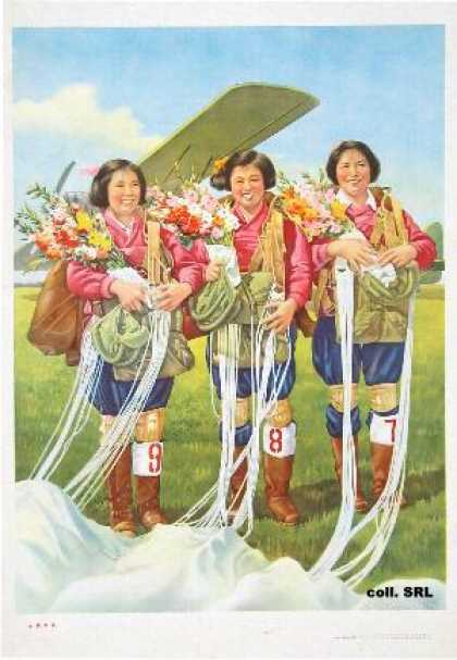 Women parachuters (1964)