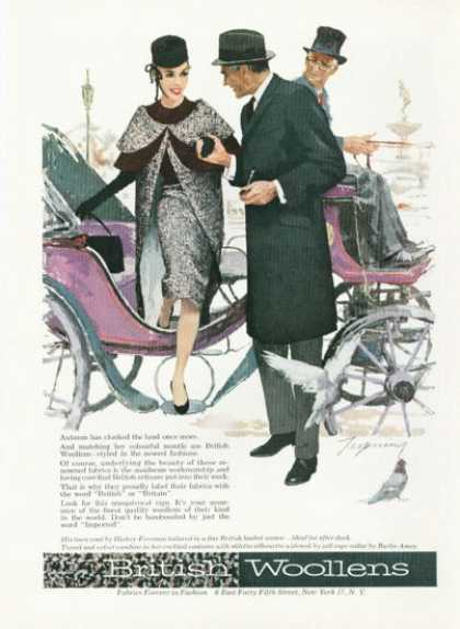 British Woollens Carriage Ride (1959)