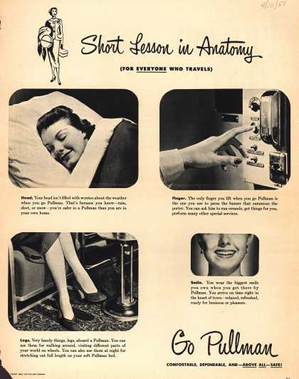 Pullman Company – Short Lesson in Anatomy (For Everyone Who Travels) (1951)