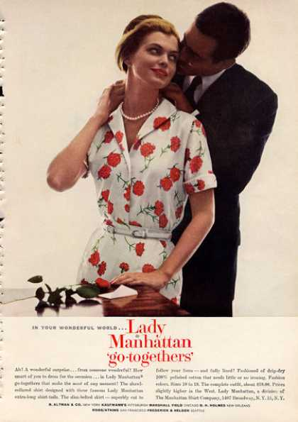 Lady Manhattan Flower Print Dress (1960)