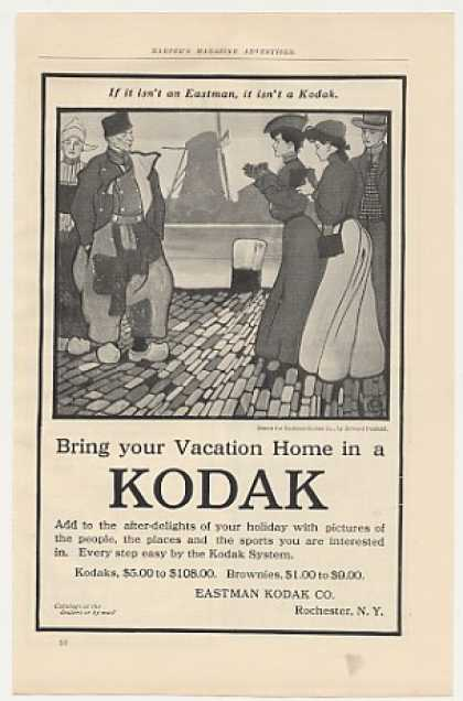 Eastman Kodak Camera Edward Penfield art (1905)