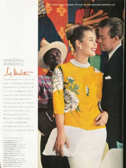 Lady Manhattan Silk Blouse (1962)