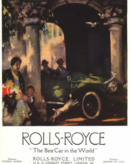 Rolls-Royce, Cars, UK (1917)