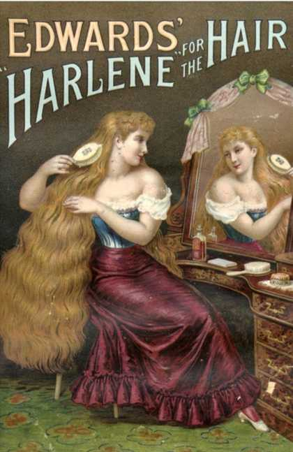 Edwards Harlene for Hair, Hair Products Womens, UK (1890)