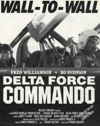 Delta Force Commando Collectible Movie (1987)