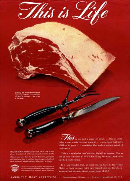 Meat, USA (1940)