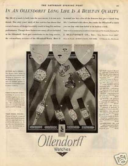 Ollendorff Watches (1928)