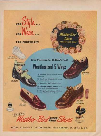 Weather Bird Super Value Shoes (1949)