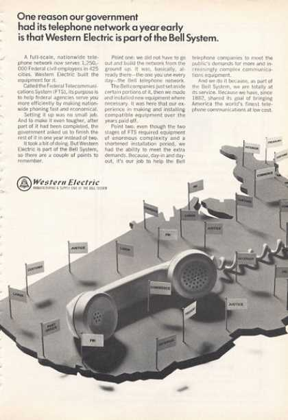 Western Electric Phone Telephone Bell System (1966)