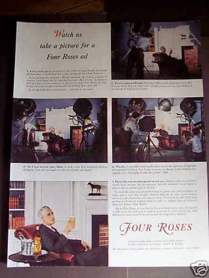 Photographer Anton Bruehl Four Roses Whiskey (1939)